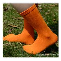 MEIKAN brand new cotton men knee socks long sports candy color harajuku nylon chaussette fashion soft orange