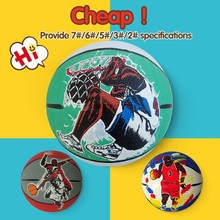 Factory direct saling promotional pvc leather basketball