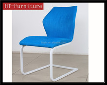 Bright color and new style pretty cloth dining room furniture for dining chair