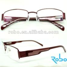 2012 fashion metal optical glasses frames RS12-L033 red