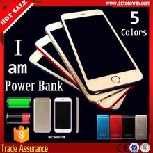 2015 Promotional universal mobile power bank, Logo custom external portable power bank