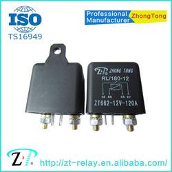 ZT662-12VDC-A-120A 4pins SPST Heavy duty relay