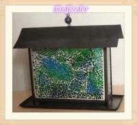 Bird feeder mosaic glassr For Garden