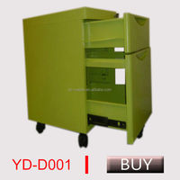 Gray Mobile pedestal/movable cabinet/office mobile cabinet