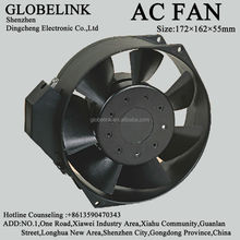 ac axial cooling fans 16055 Size diameter160*55mm axial cooling fans