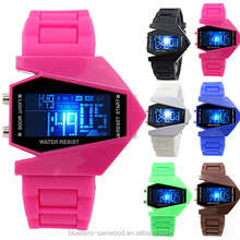 COOL Men's Oversized Light Digital Sports Quartz RUBBER Wrist Watches