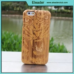 for iphone 6 plus natural wood case, bamboo case for iphone 6 plus
