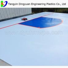 UHMW-PE ice rink / uhmw plastic barrier / uhmwpe ice hockey