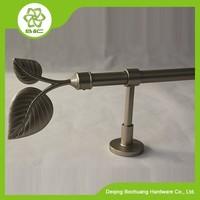 Custom Decorative Quality Types of aluminum new designs curtain rods