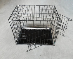 China dog kennel with removable tray