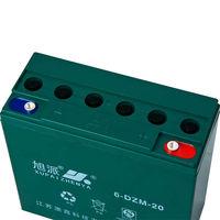 XUPAI 6-DZM-20 12v20ah VRLA batteries 6v 4ah rechargeable batteries