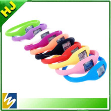 Hot sale custom advertising wrist watch silicone