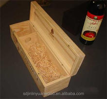 Good quality wooden wine box,the material can be paulownia or pine