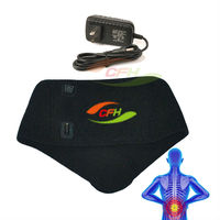 china manufacturer alibaba DC9V infrared pain-relief electronic heating fat burning waist belt