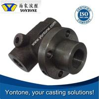 Yontone OEM Service Mill T6 HT350 spherical graphite cast iron 1460-040 burner body clay sand casting