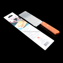 Corrugated/potato cutter French fries knife