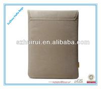 """Super soft 13"""" tablet computer bag &13"""" computer sleeve"""