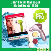 5 in 1 Beauty Care Massage Multifunction Electric Face Cleansing Brush, Skin Care Face Massager