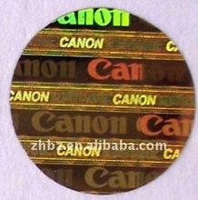 2012 popular 3D hologram laser label