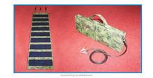 Portable 130w folding solar panel/solar power bag