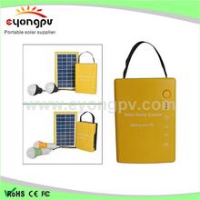 smart small portable solar home lighting system