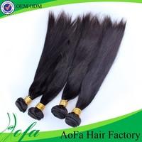 Full cuticle popular soft natural shining malaysian virgin hair straight