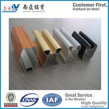 aluminium sliding wardrobe door profiles