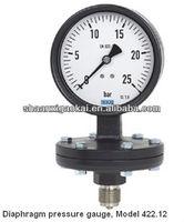 Diaphragm pressure gauge Industrial series Models 422.12