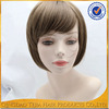 wholesale blonde short hair cuts for ladies synthetic wig