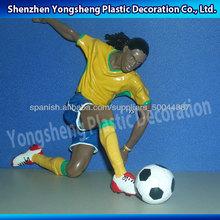 figura del fútbol de plástico deporte