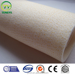 Cheap Nonwoven Polyester Blending carbon fiber Antistatic bags filter felt