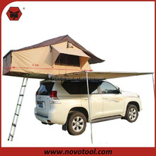 High Quality Standard 1-2 Person Type Single Layer 1.4m Extended Car Roof Tent Awning