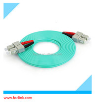 SC-SC OM3 fiber optical leads,OM3 Duplex fiber patch cord