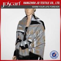 Embroidery European pashmina shawl bulk winter scarf wholesale