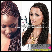 Alibaba Trade Assurance Paypal Accepted Professional Supplier Quality Fully Hand Braided Lace Front Wig