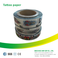 High quality food grade tattoo decal paper