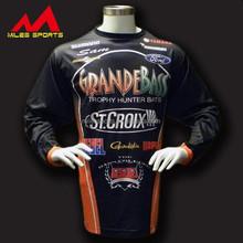custom made long sleeves fishing shirt wear for men