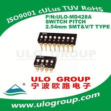 Secure RoHs hot selling momentary micro push button tact switch manufacturer ULO