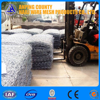 Anping factory supply best quality PVC Coated Gabion Box Rock Cage/high quality gabion rock wall/high quality gabion baskets 1x1
