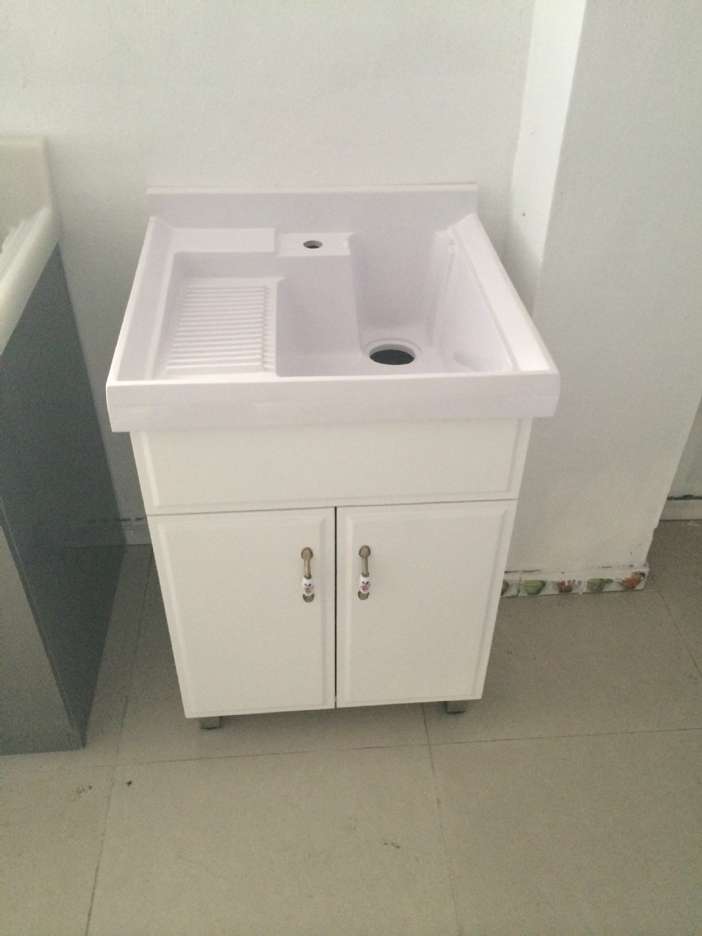 laundry basin/deep sink for laundry/wash cloth basin laundry sink ...