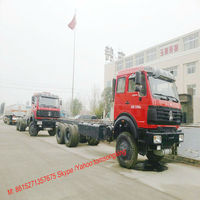 BEIBEN chassis Truck NG80 cab off road 6X6 truck 260~460HP Tom:008615271357675
