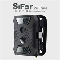 PIR motion actived sd card record 12MP 720P video outdoor wireless thermal security camera