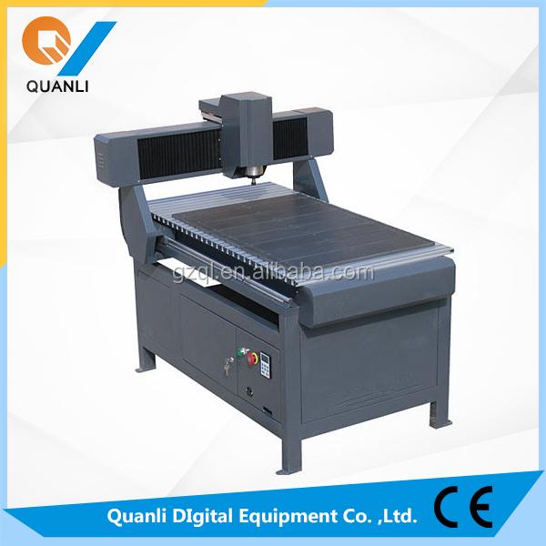 Routeur CNC en aluminium plaque de bois 6080 Machine de gravure