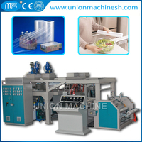 LLDPE Multi 3 Layer Cast Film Extrusion Line Making Machine for Pallet