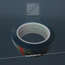High Temperature Single Sided PET blue tape for Insulating
