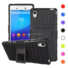 tire hard case pc tpu hybrid phone back cover For Sony Xperia M4 Aqua