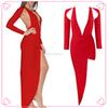 2015 fashion new style girls sexy night dress photos red dresses