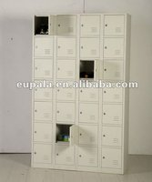Steel shoe storage locker/28 tiers locker
