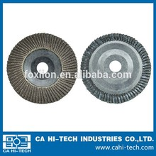 easy to change & sharp grinding calcined aluminum oxide flap disc for metal