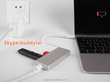 """USB 3.1 C Type combo charger with 2 ports Type C 2 ports USB 3.0 HUB for Apple Macbook Air 12"""""""